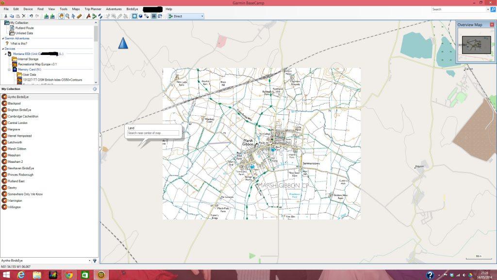 Basecamp with Freizeitkarte Maps