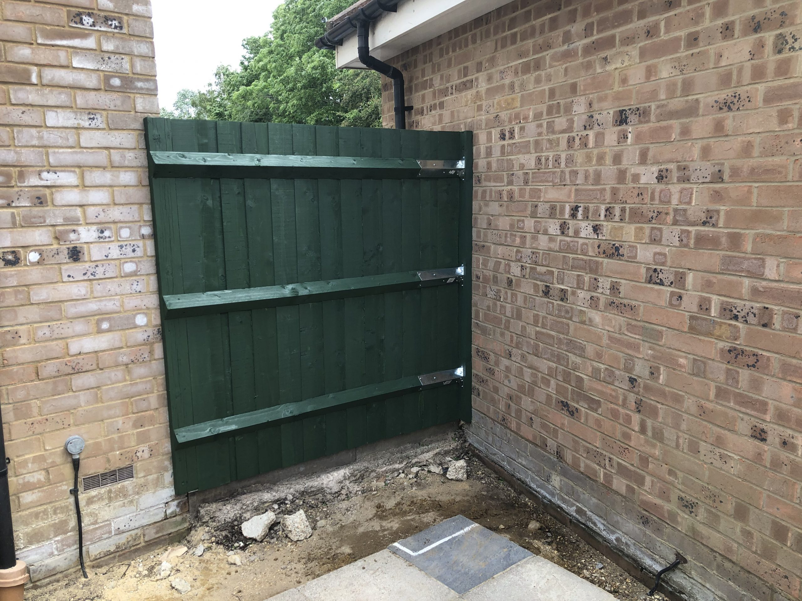 The new small fence