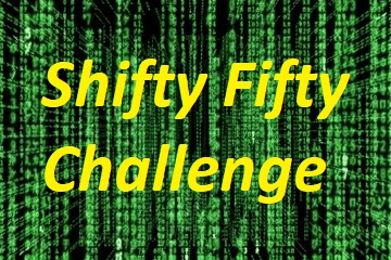Shifty-Fifty Challenge